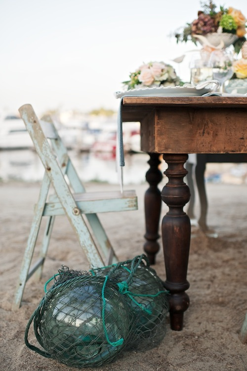 Huntington-Beach-Wedding-Found-Vintage-Rentals-Nautical