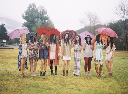 Boho-Bridesmaid-eclectic-shower