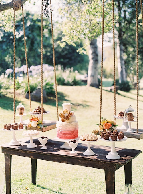 caroline-tran-outdoor-malibu-wedding-rustic-dessert-cake-table