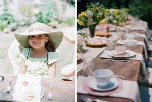 Helen's Tea Party Birthday with Art with Nature, Mike Radford Photography and Found Vintage Rentals
