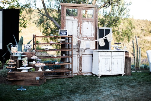 Southern California Wedding with Found Vintage Rentals, Swellegant, and Inviting Occasion