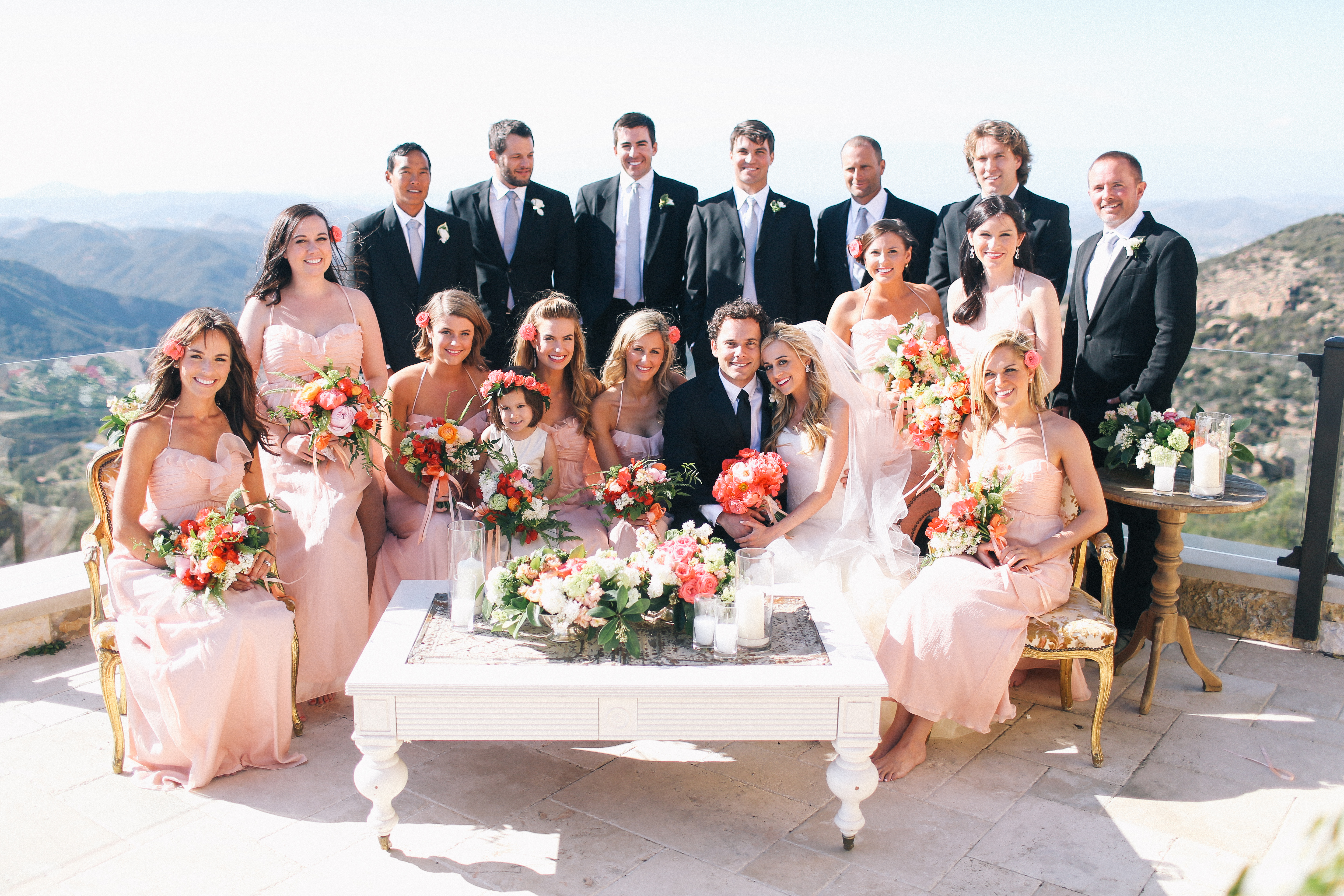 Malibu Wedding with Bash Please, Max Wanger and Found Vintage Rentals