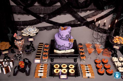 Halloween Dessert Display Found Rentals