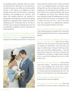 The Wedding Stylist - Reverie Magazine