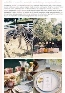Exotic Ranch Wedding