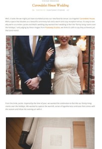Ruffled Blog-Carondelet House Wedding with Found Vintage Rentals