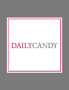 Daily Candy Logo with Found Vintage Rentals