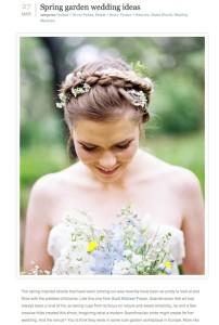 100 Layer Cake-Spring Garden Wedding Ideas with Found Vintage Rentals