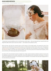 Green Wedding Shoes-English Garden Inspiration with Found Vintage Rentals