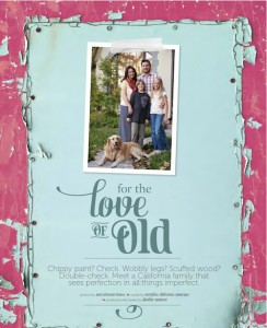 For the Love of Old