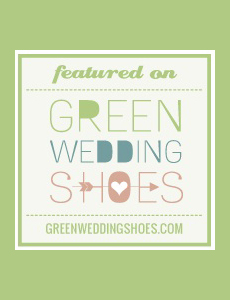 Found on Green Wedding Shoes
