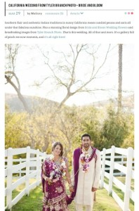SMP-California Wedding from Tyler Branch Photo + Bride and Bloom with Found Vintage Rentals