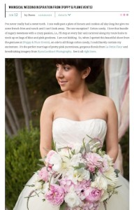 SMP Whimsical Wedding Inspiration from Poppy and Plum Events with Found Vintage Rentals