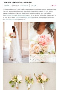 SMP-Newport Beach Wedding from Ashlee Raubach with Found Vintage Rentals