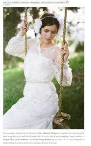 Wedding Chicks Erica Elizabeth Designs with Found Vintage Rentals