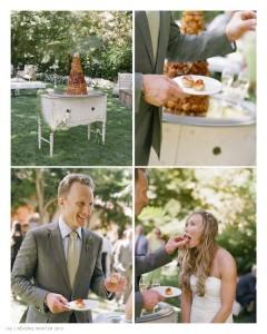 Reverie-Bel-Air-Outdoor-Vintage-Wedding-Elizabeth-Messina-Cake-Table
