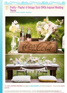 Vintage-Inspired-Wedding-Theme-outdoor-Southern-California-Found-Vintage-Rentals