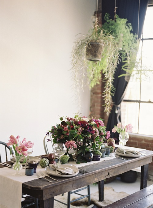 Hollywood-loft-foodie-inspired-wedding-shoot-nature-found-vintage-rentals