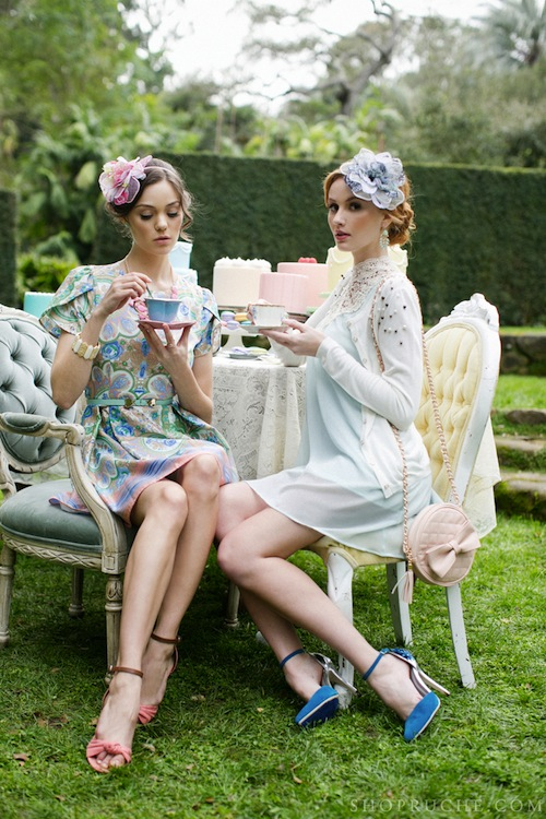 Tea for Two… Ruche Spring 2013