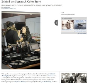 California Wedding Day-A Color Story with Found Vintage Rentals