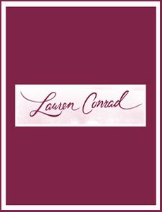 Lauren Conrad Logo with Found Vintage Rentals