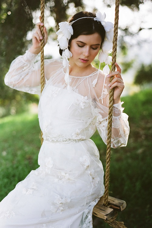 Romantic Weddings Accessory shoot with Erica Elizabeth Designs, This Modern Romance, and Found Vintage Rentals