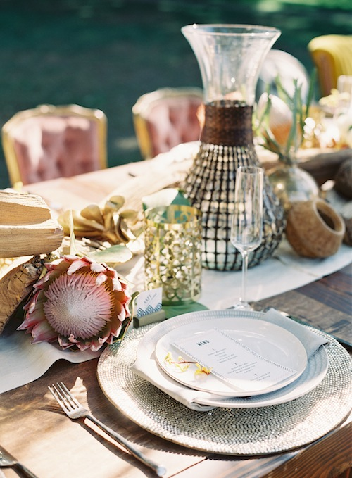 Caroline-tran-outdoor-wedding-malibu-dining-table-intimate-rustic