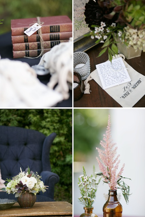 outdoor-california-wedding-rustic-vintage-furniture