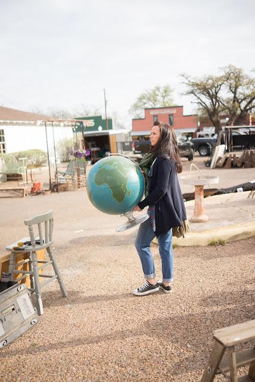 found-vintage-rentals-studio-emp-jeni-maus-round-top-texas-flea-market-globe
