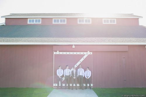Strawberry Farms Wedding with Orange Owl Photo and Found Vintage Rentals