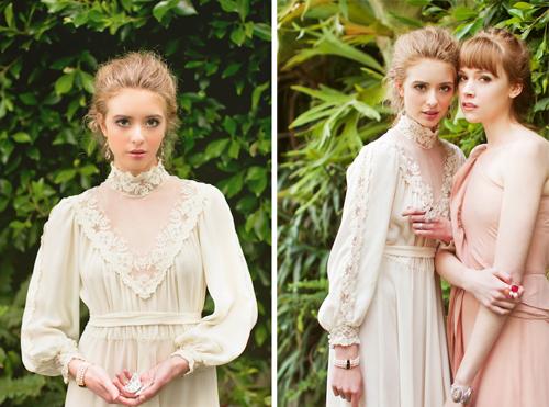Victorian-Bridal-shoot-ruche-casa-de-perrin-found-vintage-rentals-kim-le-photography