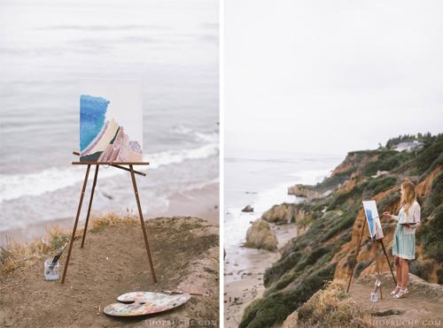 Ruche Summer 2013 Look Book with Found Vintage Rentals shot by Brandon Kidd
