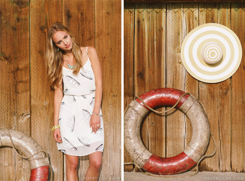 Ruche Summer 2013 Look Book with Found Vintage Rentals shot by Brandon Kidd