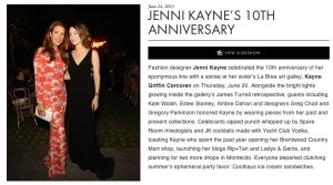C Social Front Jenni Kayne's 10th Anniversary with Found Vintage Rentals