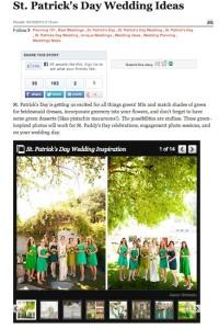 Huffington Post-St. Patrick's Day Wedding Ideas with Found Vintage Rentals