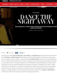 Vogue Dance the Night Away with Found Vintage Rentals