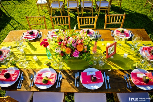 Bright vintage wedding with True Photography and Found Vintage Rentals
