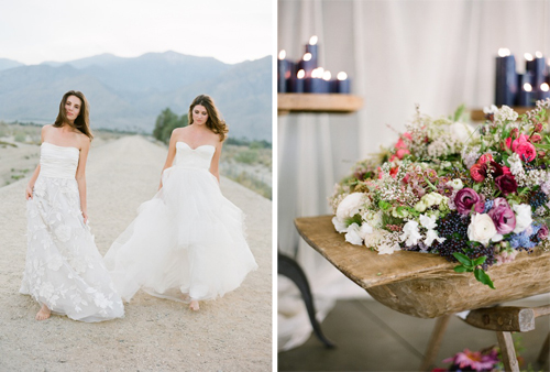 Flowerwild Workshop at the Ace Hotel Palm Springs with Jose Villa and Found Vintage Rentals