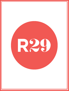 Refinery 29 Logo with Found Vintage Rentals