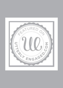 Utterly Engaged Logo with Found Vintage Rentals