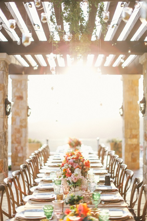 Malibu Outdoor Wedding with Bash Please, Max Wanger and Found Vintage Rentals in C Weddings