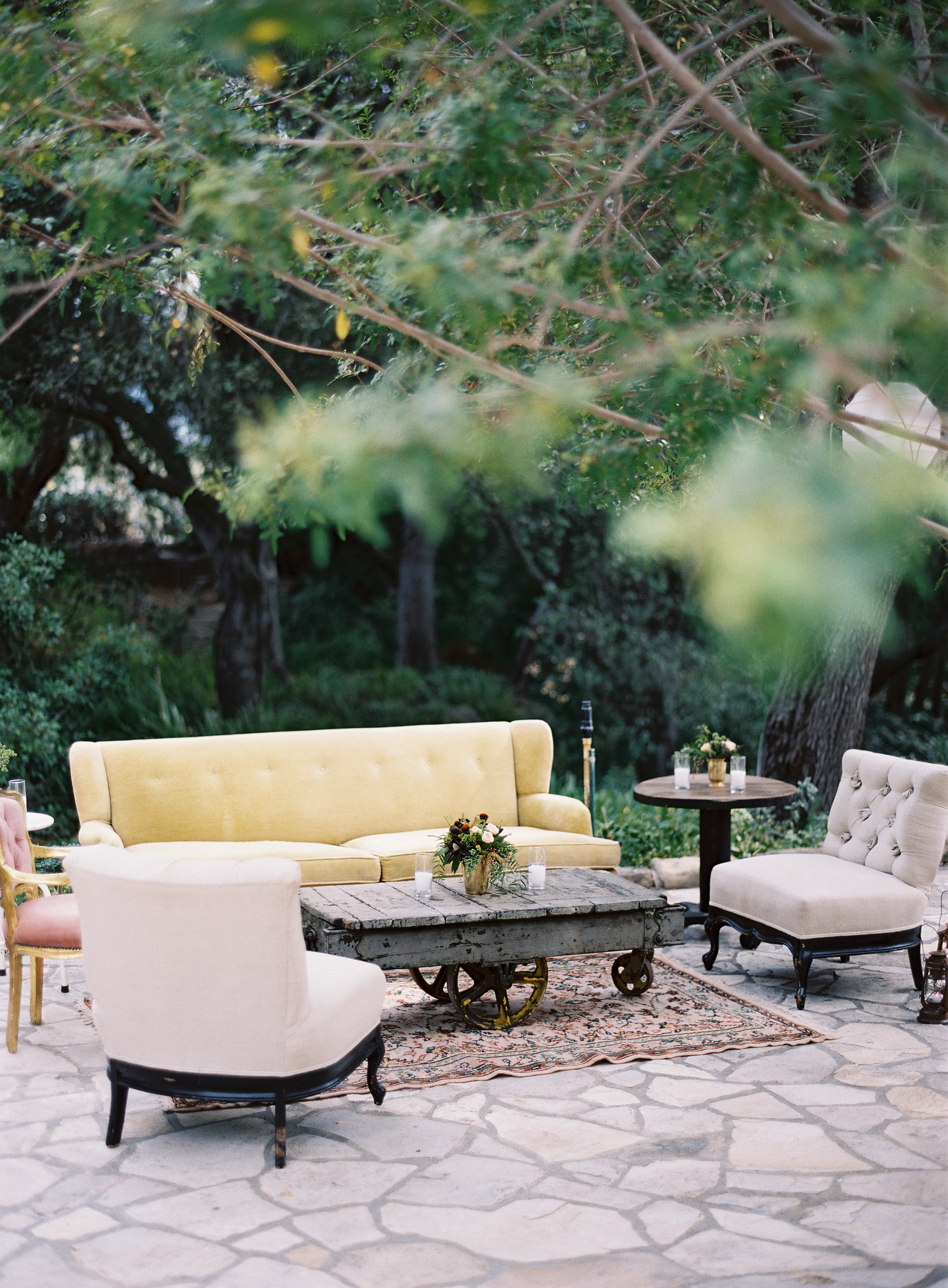 Bash Please Ojai Wedding with Tec Petaja and Found Vintage Rentals