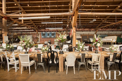 ABC OC Luncheon at Found Vintage Rentals' Warehouse with Studio EMP