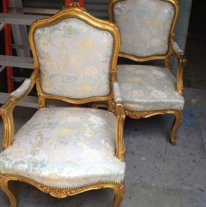 "Gold Armchairs - ""Before"""