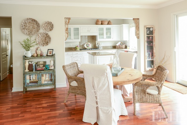 Comfy home styled by Jeni Maus of Found Vintage Rentals