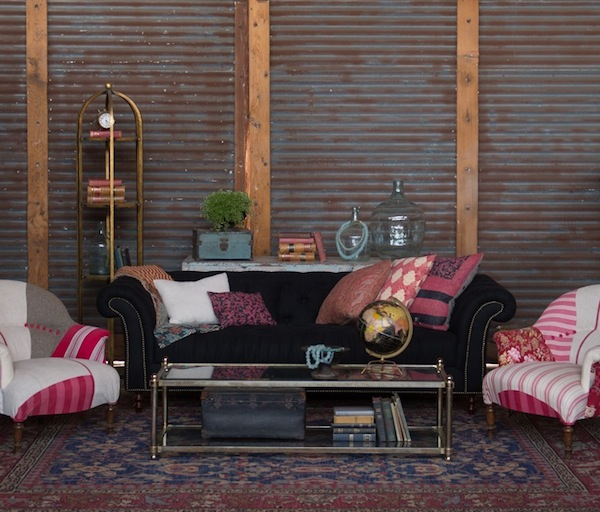 Found Vintage Rentals lounge grouping