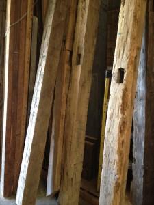 Found Vintage Rentals Reclaimed Wood Pergolas