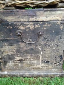 Jeni Mause of Found Vintage Rentals Brimfield trip finds