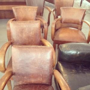 Jeni Maus of Found Vintage Rentals Brimfield trip finds