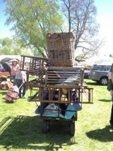 Brimfield Flea Market finds with Found Vintage Rentals